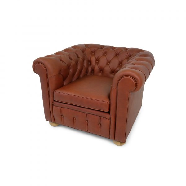 Chesterfield chair handmade by www.norellfurniture.com
