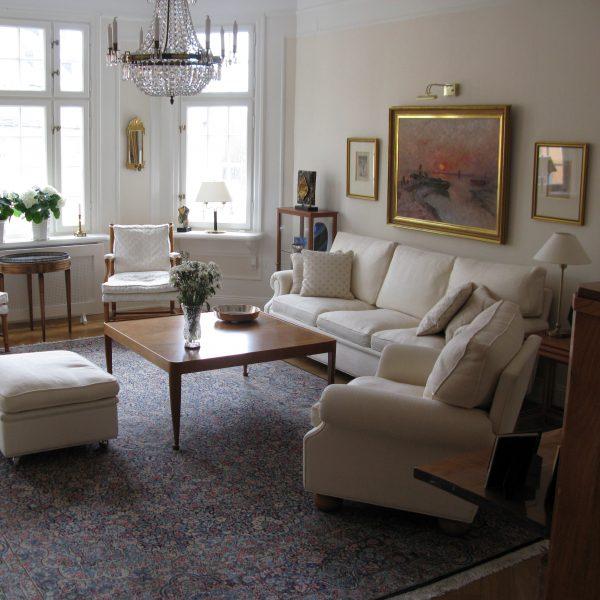 Plaza soffa och fåtölj från Norell Möbel.