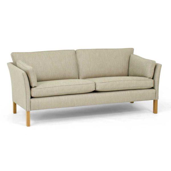 Cromwell soffa beige med träben design Arne Norell