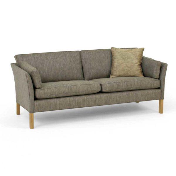 Cromwell soffa grå med träben design Arne Norell