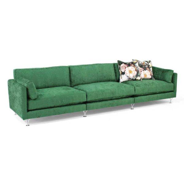 Deep och Soft gul soffa design Norell Möbel