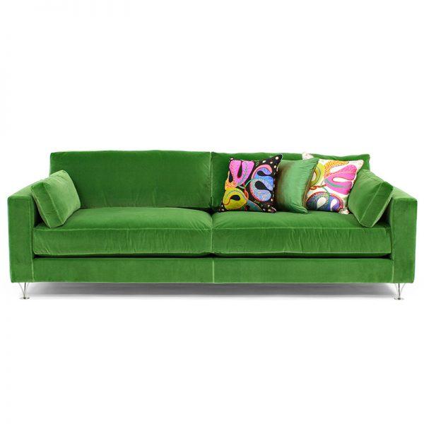 Deep och Soft grön soffa design Norell Möbel