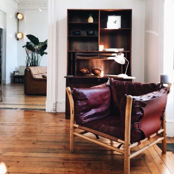 Vintage Ilona från Norell Möbel. Design: Arne Norell. (Foto @_vintage_department.com_)