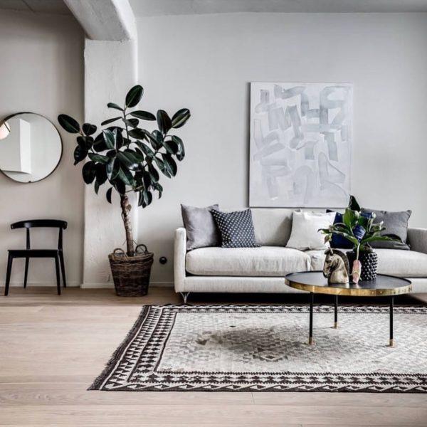 'Deep' soffa från Norell handgjord i Sverige. (Foto: @stylingbolaget)