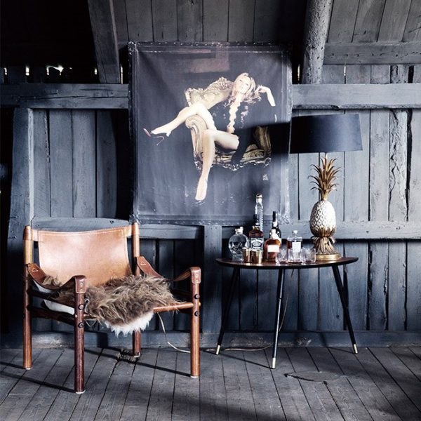 Vintage Sirocco i cognac-läder från Norell Möbel. Design Arne Norell. (Foto ELLE)