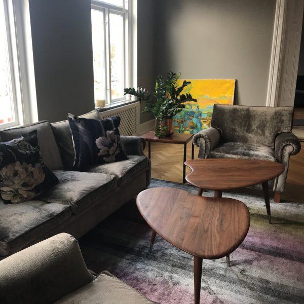 Plaza soffa och fåtölj från Norell Möbel