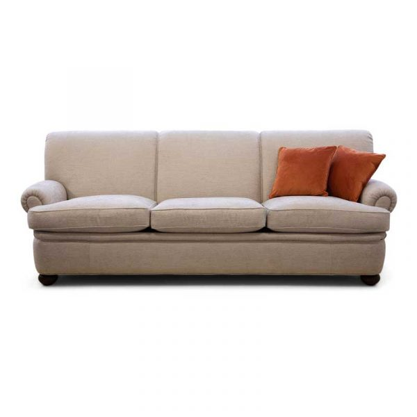 Beige 3-sits soffa modell Dover