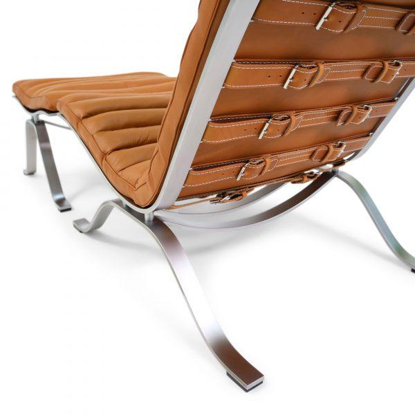 ari chair cognac leather arne norell