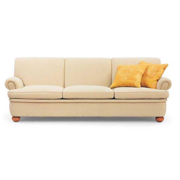 Dover beige soffa, design Norell Möbel