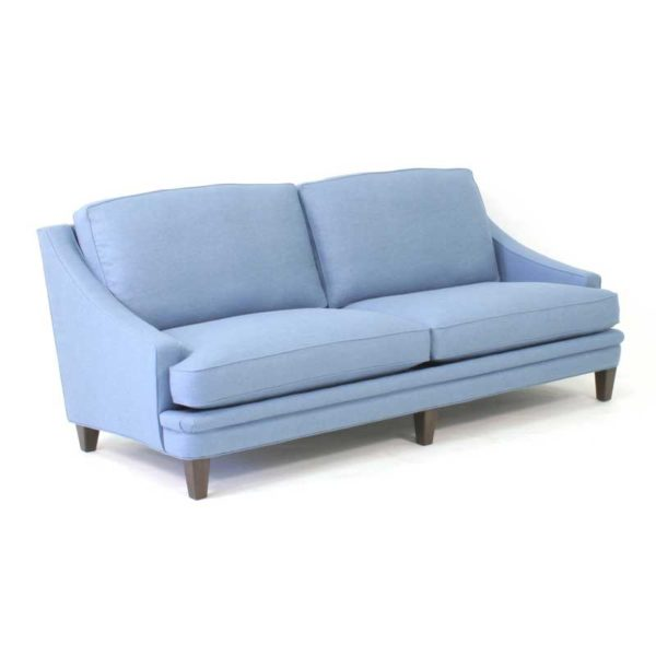 Isolde blå soffas design Norell Möbel