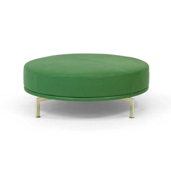 Look grön pall design Ulla Christiansson för Norell Möbel