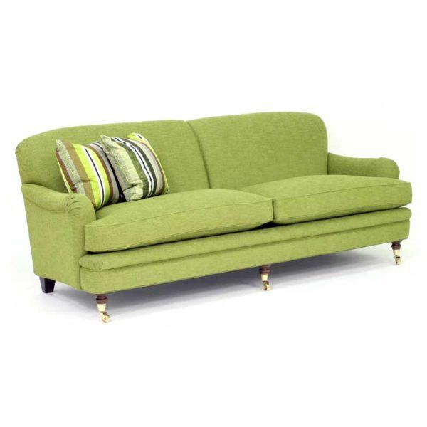 Romeo grön soffa design Norell Möbel