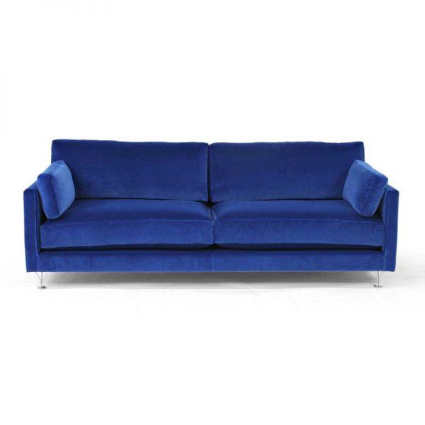 Deep och Soft blå soffa design Norell Möbel