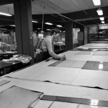 Hantverk på Norells fabrik i Aneby