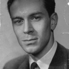 Swedish furniture designer Arne Norell as a young man
