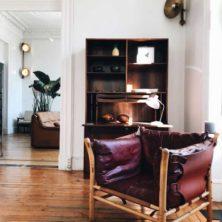 ilona vintage fåtölj design Arne Norell