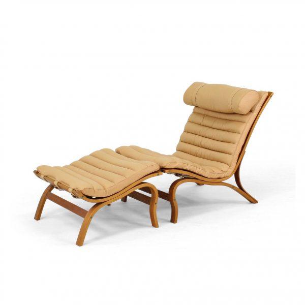 'Skandi' fåtölj från Norell Möbel. Design: Arne Norell.