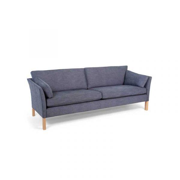 Soffa Cromwell 3-sits, blå klädsel